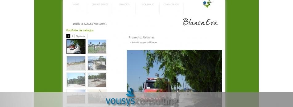 Vousys.com // Diseño, programación y gestor de contenidos