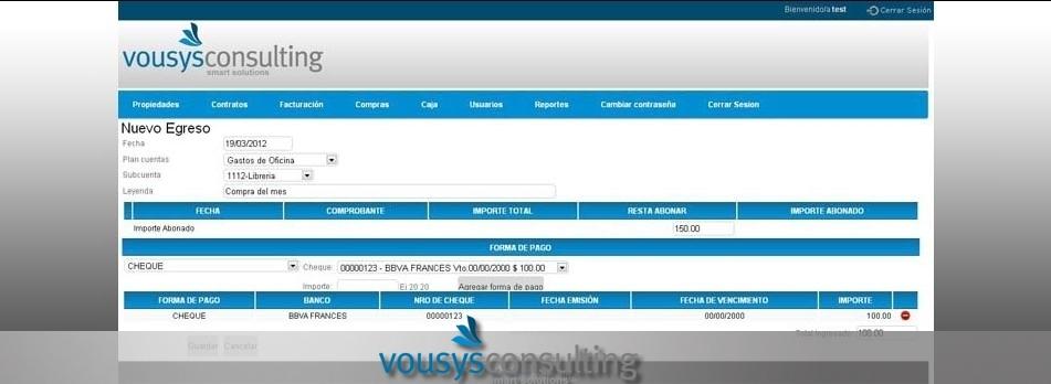 Vousys.com // Sistema gestión web para guardamuebles