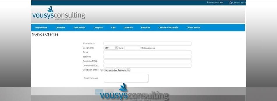 Vousys.com // Software de gesti�n web para consorcios