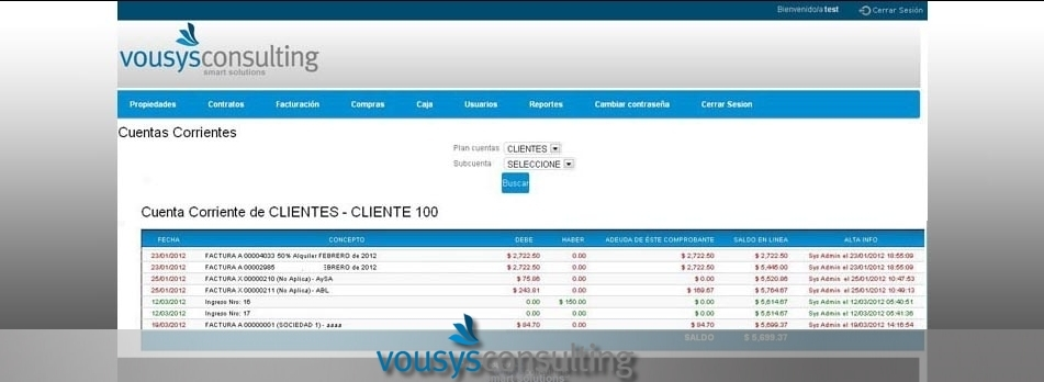 Vousys.com // Software de gestión web para consorcios