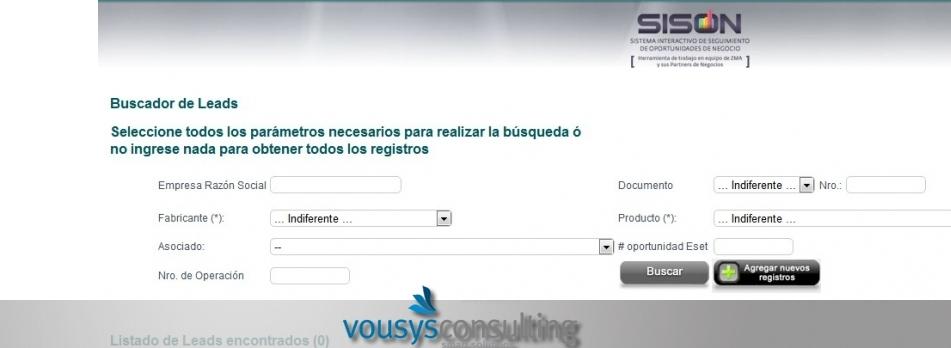 Vousys.com // Seguimiento de oportunidades