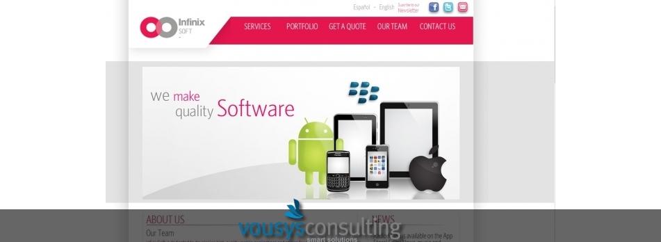 Vousys.com // Programacion del portal con gestor de contenidos