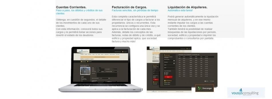 Vousys.com // E-xpensas: sistema gestión de consorcios