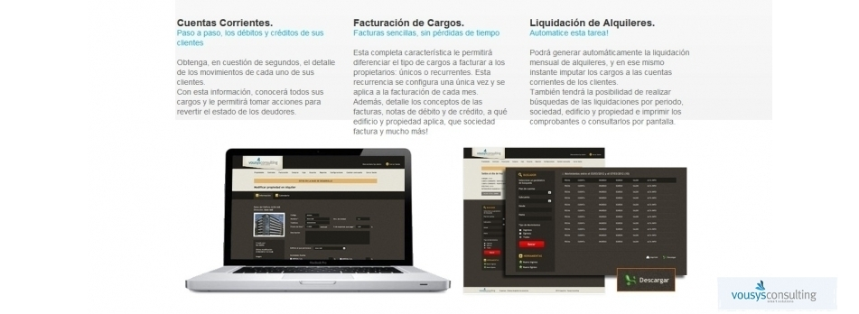 Vousys.com // Expensas claras | gestión consorcios