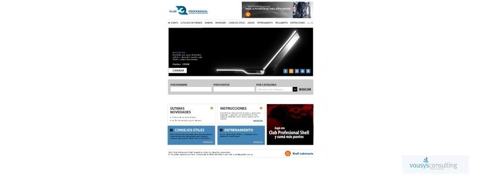 Vousys.com // Promos, trivias, acciones,club de puntos