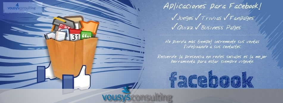 Vousys.com // Facebook applications