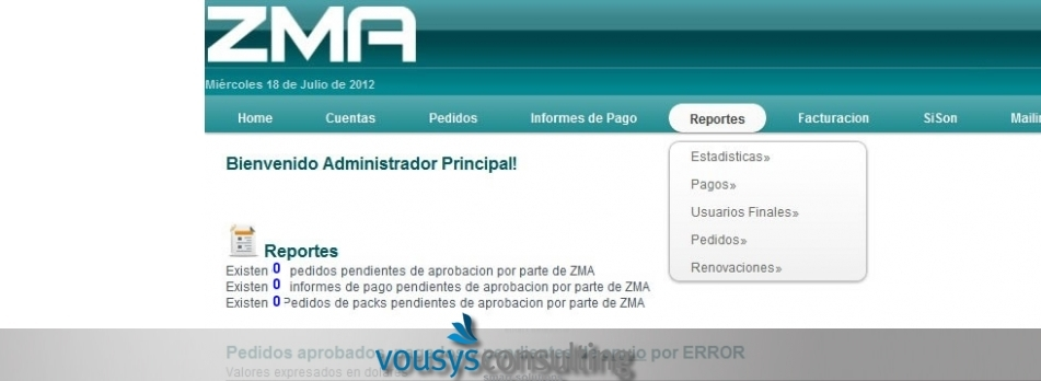 Vousys.com // Sistema de gestión de asociados