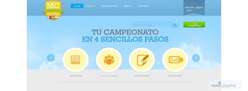 Vousys.com // Mi campeonato