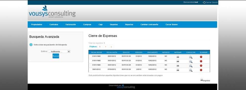Vousys.com // Sistema de gesti�n web para consorcios