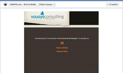 Vousys.com // Trivia facebook