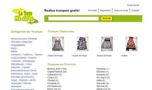 Vousys.com // Portal para realización de trueques