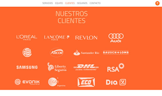 Vousys.com // Sitio web para slam! marketing
