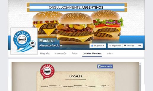 Vousys.com // Aplicación para facebook: mis locales