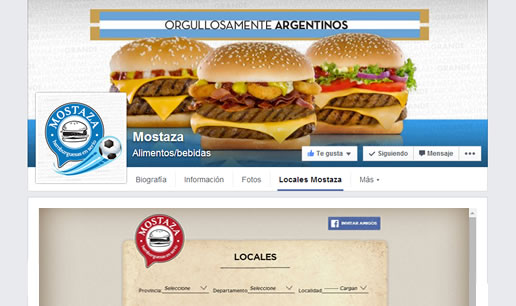Vousys.com // Aplicaci髇 para facebook: mis locales