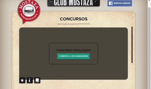 Vousys.com // Aplicaci�n para facebook: club mostaza