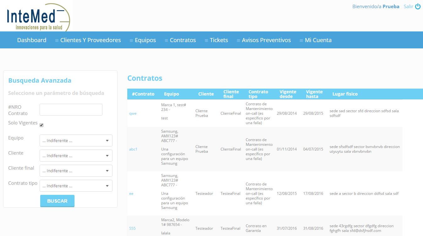Vousys.com // Sistema de gestión de servicios