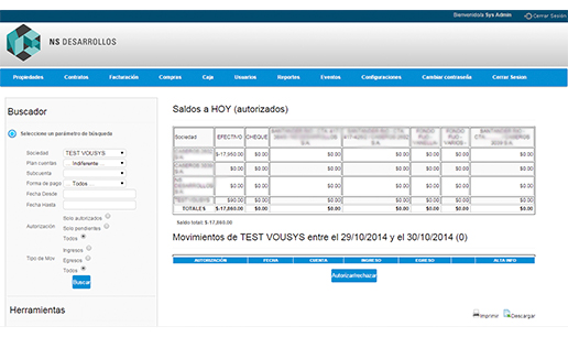 Vousys.com // Sistema de gestión de obras