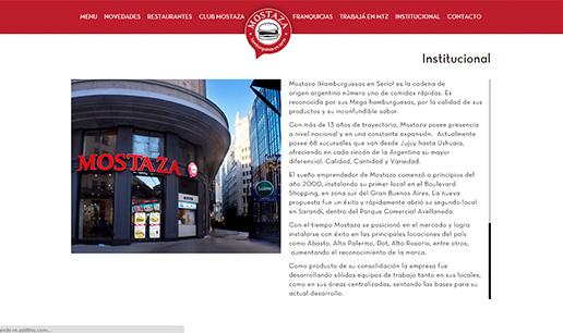 Vousys.com // Nuevo sitio responsive para mostaza!