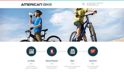 Vousys.com // Nuevo sitio web de american bike