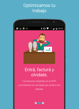 Vousys.com // Tusfacturas, facturador movil