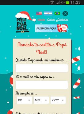 Vousys.com // Pedile a papá noel.com