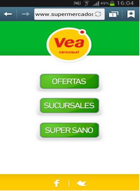 Vousys.com // Versión mobile