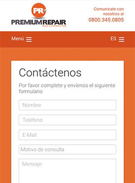 Vousys.com // Web responsive con gestor de contenido