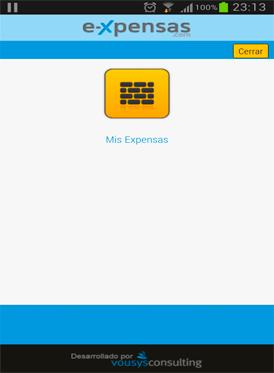 Vousys.com // E-xpensas: aplicaci髇 para propietarios