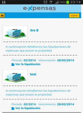 Vousys.com // E-xpensas: aplicación para propietarios