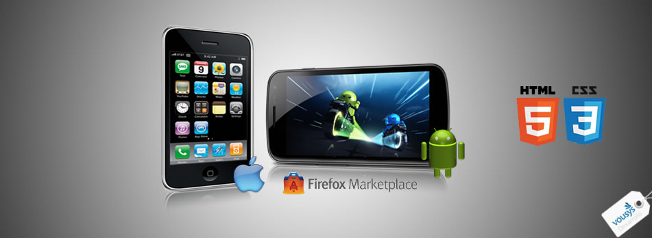 Development of mobile applications. Android applications, applications html5